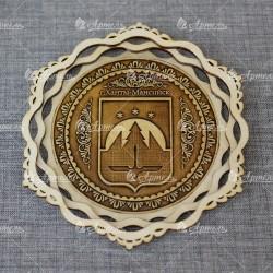 """Панно """"Герб"""" Ханты-Мансийск"""