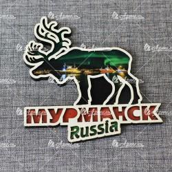 Магнит северный олень Мурманск