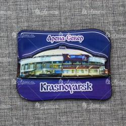 "Магнит со смолой ""Арена Север вид1"" Красноярск"
