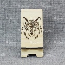 "Подставка под телефон ""Волк лик"""
