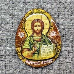 """Магнит со смолой яйцо """"Иисус"""""""