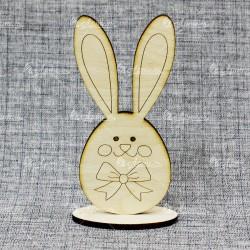 Заяц на подставке вид 2