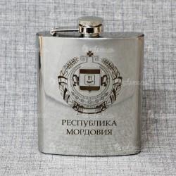 """Фляжка """"Герб"""" Мордовия"""