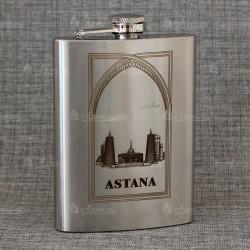 """Фляжка """"Ощий вид Астана"""" (англ)"""