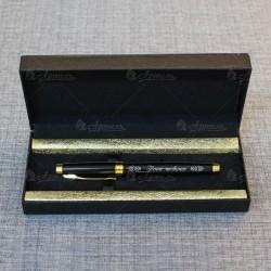 Ручка сувенирная с гравировкой в футляре