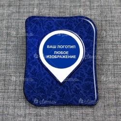 Сувенирный магнит на холодильник с логотипом