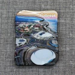 "Магнит со смолой ""Олимпийский парк верт"" Сочи"