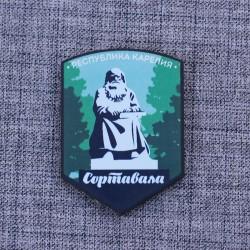 """Магнит """"Памятник рунопевцу"""" Сортавала"""
