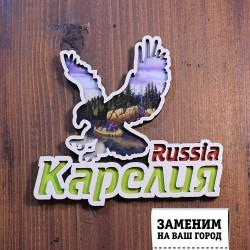 Магнит орел Russia Карелия